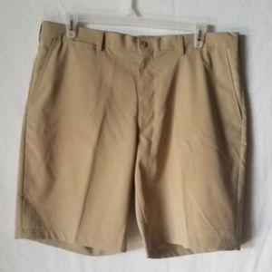PGA Tour Golf Shorts Tan Size 38 Mens